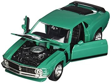 juguete maisto 1970 ford mustang boss 302 hard top 1/24 esc