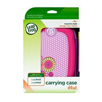 juguete maletín de transporte leapfrog leappad3 rosa (diseñ