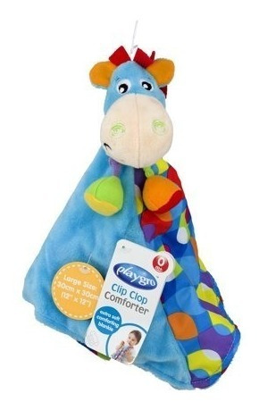 juguete manta de apego bebe para bebe clip clop playgro