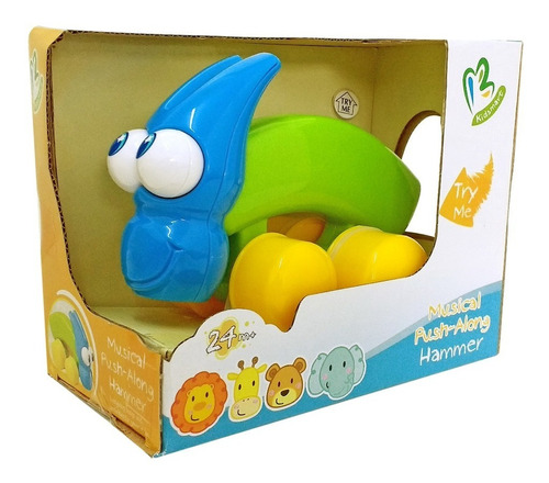 juguete martillo colores y sonido juego didactico para bebe