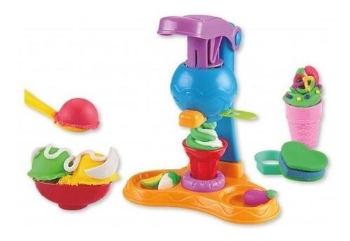juguete masas mi primera fábrica de helados babymovil 8004