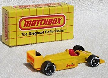 juguete matchbox 0155 escala squirt gran premio diecast cor