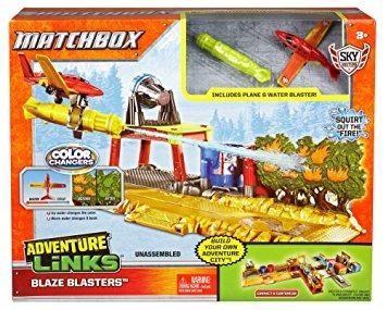 juguete matchbox aventura enlaces playset - los estilos pue