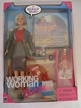 juguete mattel elaboración de la mujer muñeca barbie