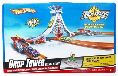 juguete mattel hot wheels stunt trick tracks torre de las g