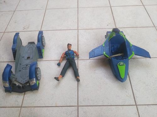 juguete max steal con auto transformable