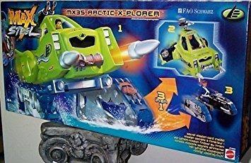 juguete max steel - mx35 ártico x-plorer