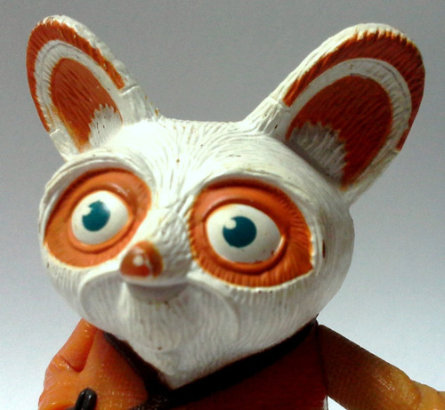 juguete mcdonald´s 2008 master shifu de kung fu panda