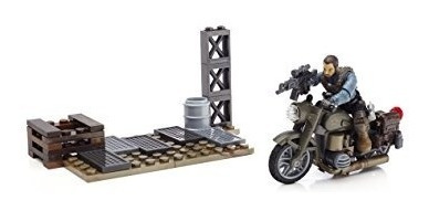 juguete mega bloks call of duty moto breakout