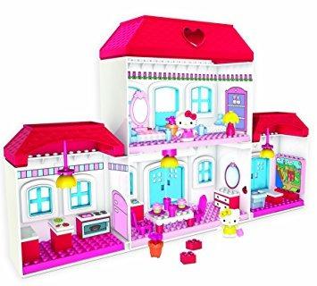 juguete megabloks hello kitty casa