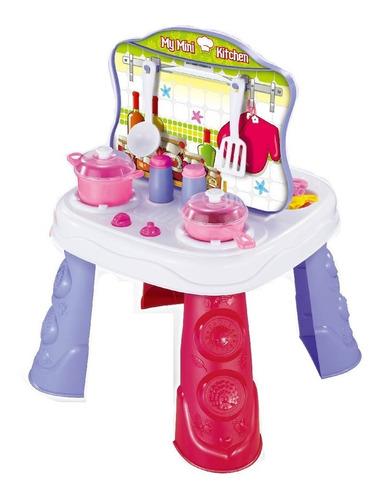 juguete mesa didactica banquito cocina belleza herramientas