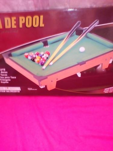 juguete mesa pool