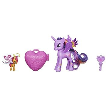juguete mi pequeño pony twilight sparkle y sunset breezie f