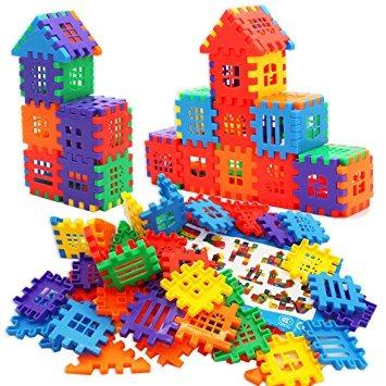 juguete michley que entrelazan constructores bloques set de