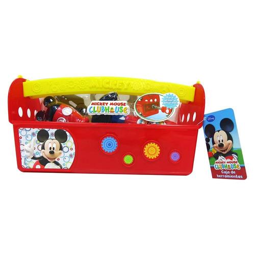 juguete mickey dch07668 caja herramientas