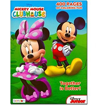 juguete mickey mouse clubhouse gigantesco coloring book - 4