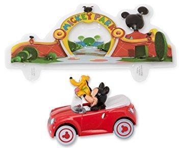 juguete mickey mouse y pluto coche decoset decoración de la