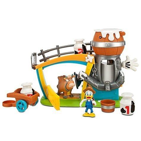 juguete mickeys granja del pato donal con sonidos