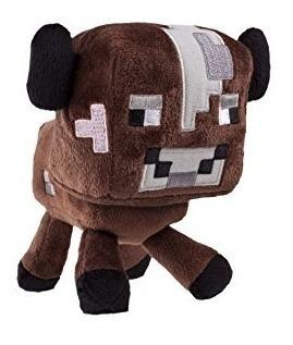 juguete minecraft vaca del bebé de la felpa