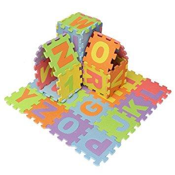 juguete mini 36pcs eva almohadilla de espuma del rompecabez