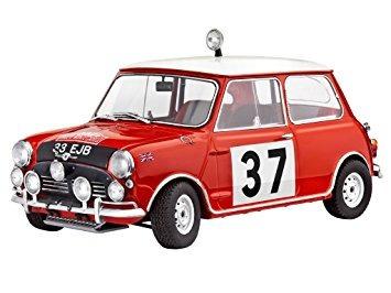 juguete mini cooper ganador del rallye de monte carlo  esca