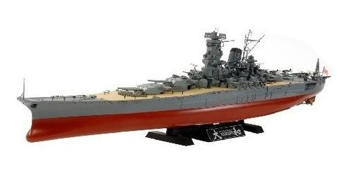 juguete modelos tamiya kit japonesa battleship yamato model