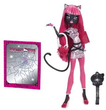 juguete monster high bjm43 scaremester catty noir muñeca