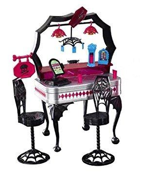 juguete monster high die-ner y draculaura set de juego y la