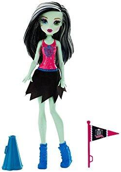 juguete monster high frankie stein cheerleading muñeca