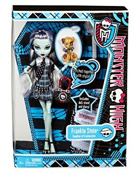 juguete monster high frankie stein favoritos originales de