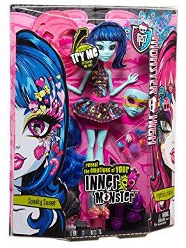 juguete monster high monster interior spooky sweet 'n muñec