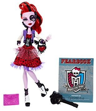 juguete monster high operetta imagen día de la muñeca