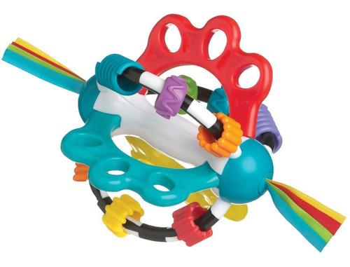 juguete mordillo sonajero bebé explor a ball playgro