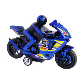 Motociclista 24x14cm Juguete Moto Con Calidad Niño BdCxoWQre