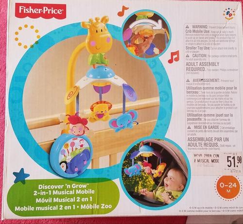 juguete movil para cuna de fisher price