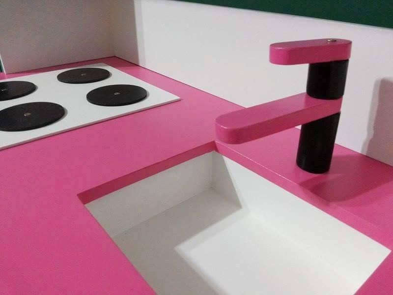 Juguete Mueble Cocina Infantil Para Chicos Mdf 12 Mm -  4.100,00 ...