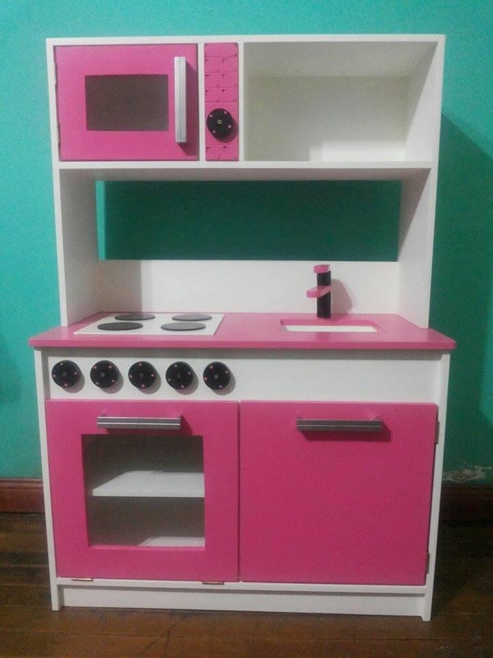 Juguete Mueble Cocina Infantil Para Chicos Mdf 12 Mm - $ 3.100,00 en ...