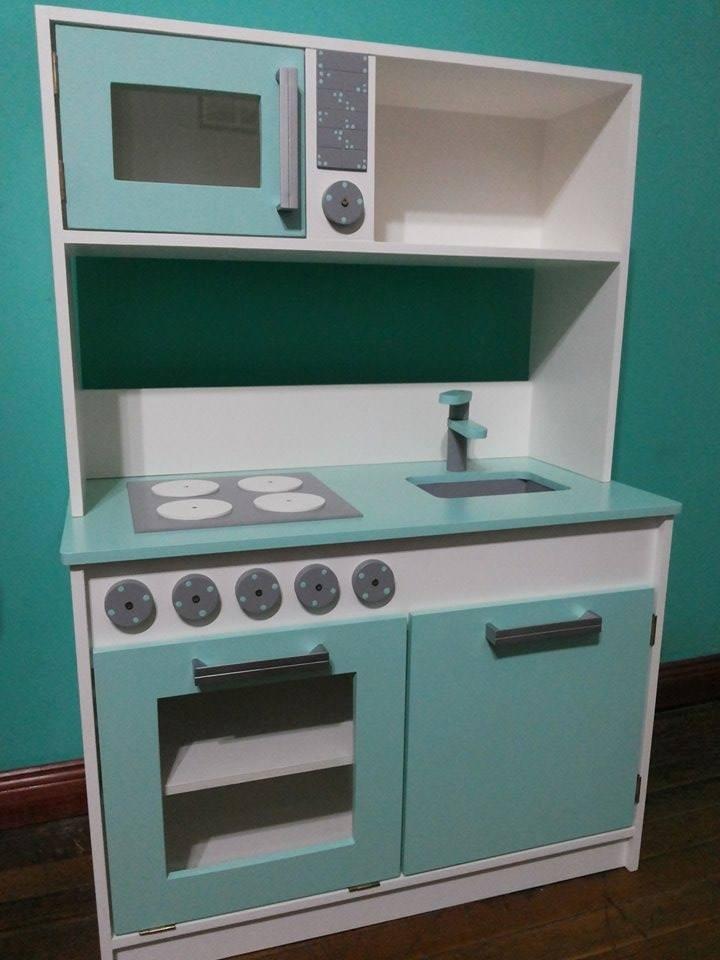 Juguete Mueble Cocina Infantil Para Chicos Mdf 12 Mm -  3.100,00 ...