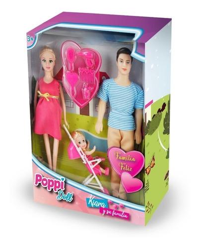 juguete muñeca 30cm kiara y su familia accesorios babymovil