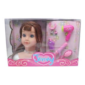 Barbie Juguete Cabeza Muñeca Regaloenvío Peinar Accesorios Ac5L3R4jq