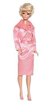juguete muñeca barbie collector sparkling pink gift set