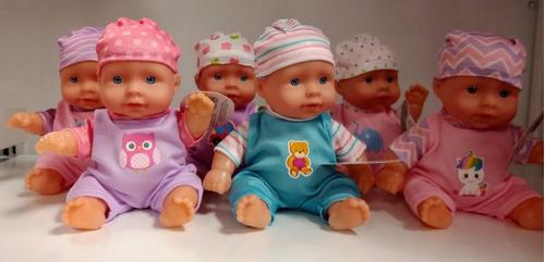 juguete muñeca bebe bebote 20cm poppi babymovil 8831
