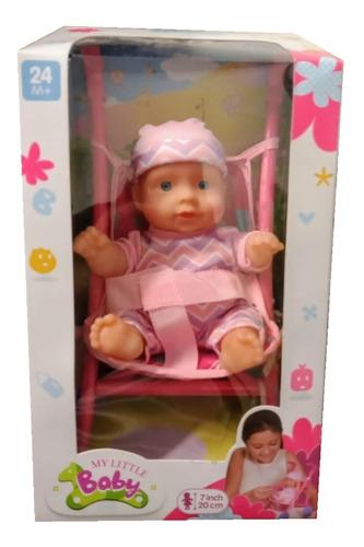 juguete muñeca bebe bebote con cochecito babymovil 28069