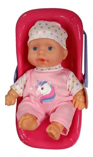 juguete muñeca bebe bebote con huevito poppi babymovil 28068