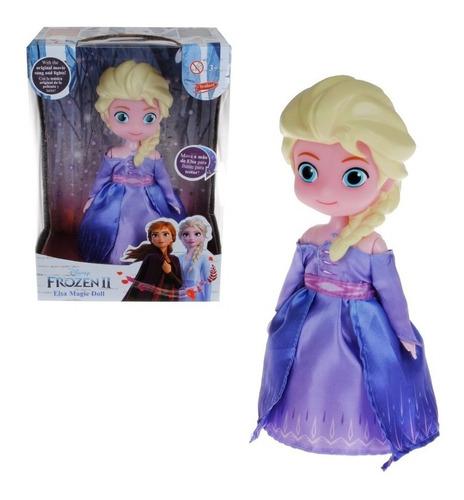 juguete muñeca elsa bailarina luz sonido frozen babymovil