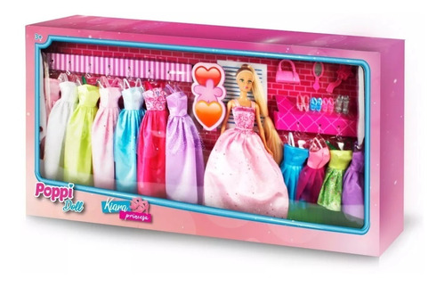 juguete muñeca kiara princesa accesorios poppi babymovil 135