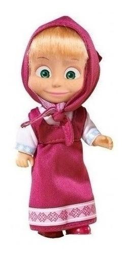 juguete muñeca masha y el oso 12cm original babymovil