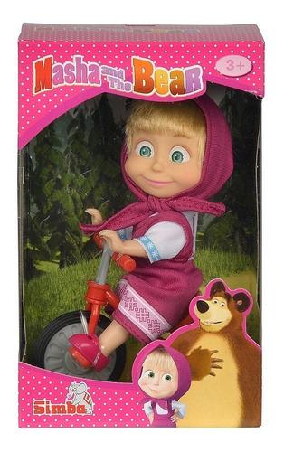 juguete muñeca para niña masha en triciclo
