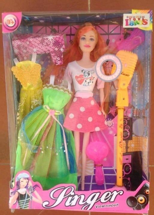 Juguete Barbie Regalo De Con Accesorios Muñeca Niñas Tipo oerQCxWdB