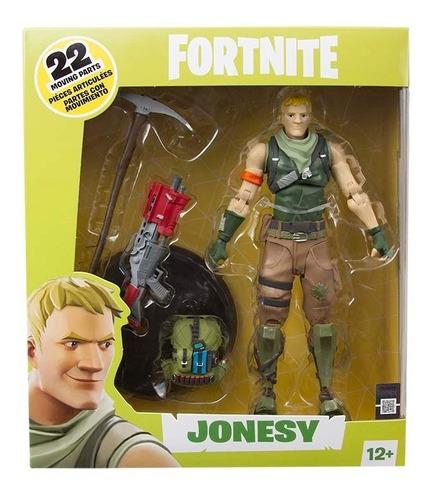 juguete muñeco figura fortnite articulada con accesorios